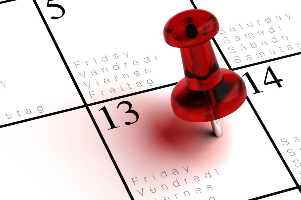 Hoy es el primer viernes 13 de 2017 ¿traerá mala suerte?