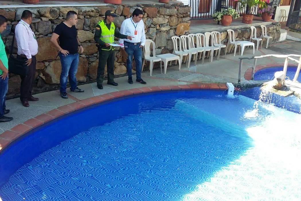 Realizan inspección a piscinas de San Gil
