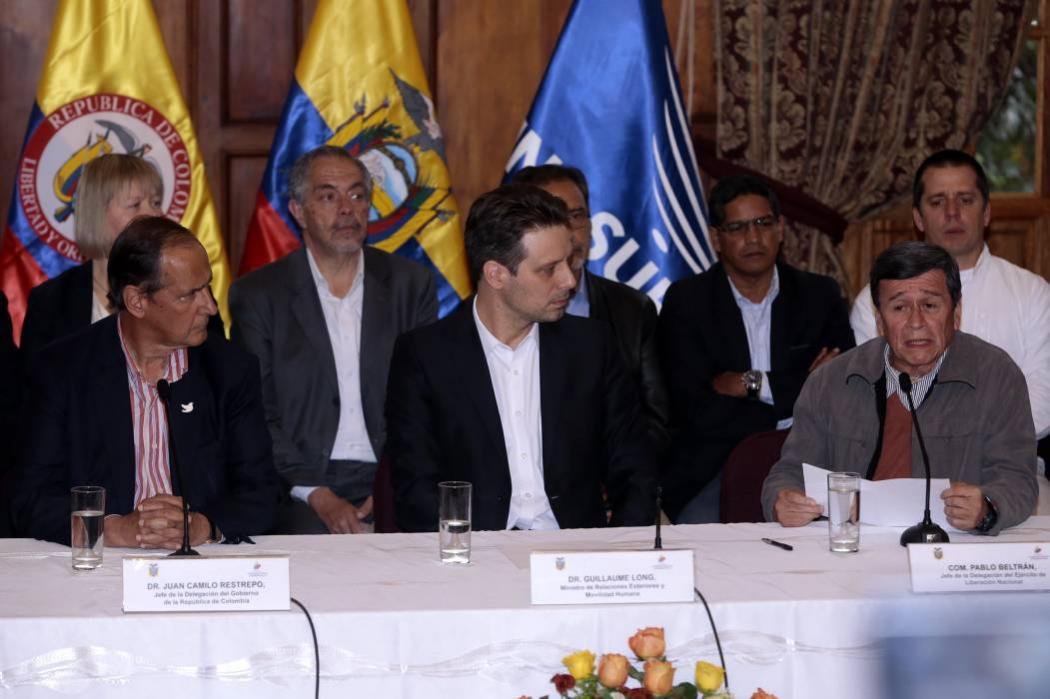 Conozca a las delegaciones del Eln y el Gobierno