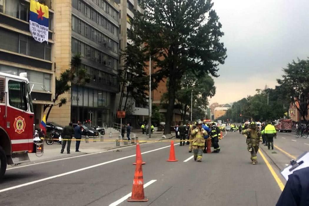 Investigan la detonación de un artefacto explosivo en Bogotá