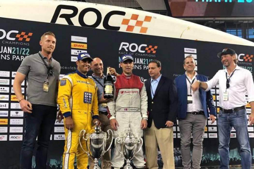 Montoya, campeón de la Carrera de Campeones