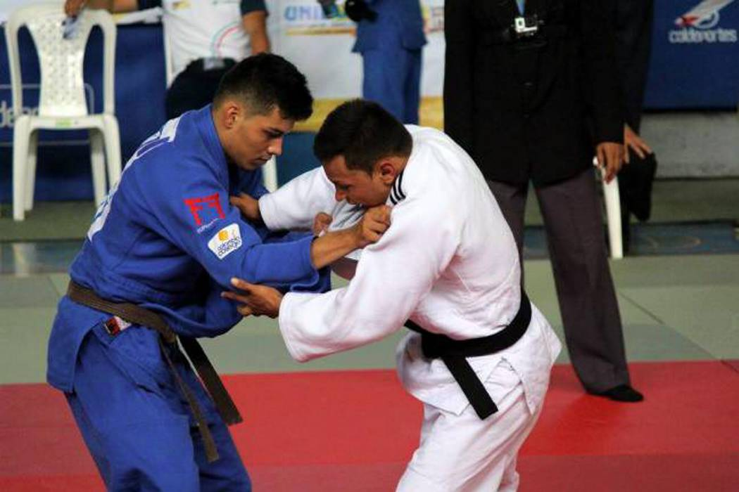 El judoca santandereano Juan Tello se foguea lejos de Colombia