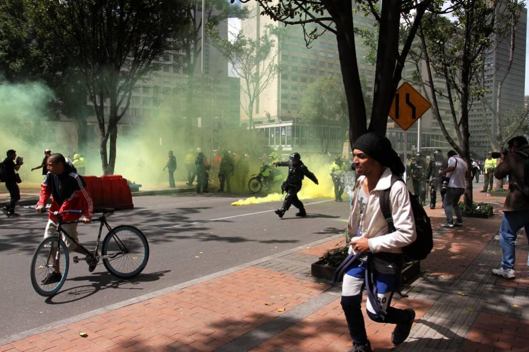 Se registraron disturbios previos al inicio de las corridas de toros en Bogotá