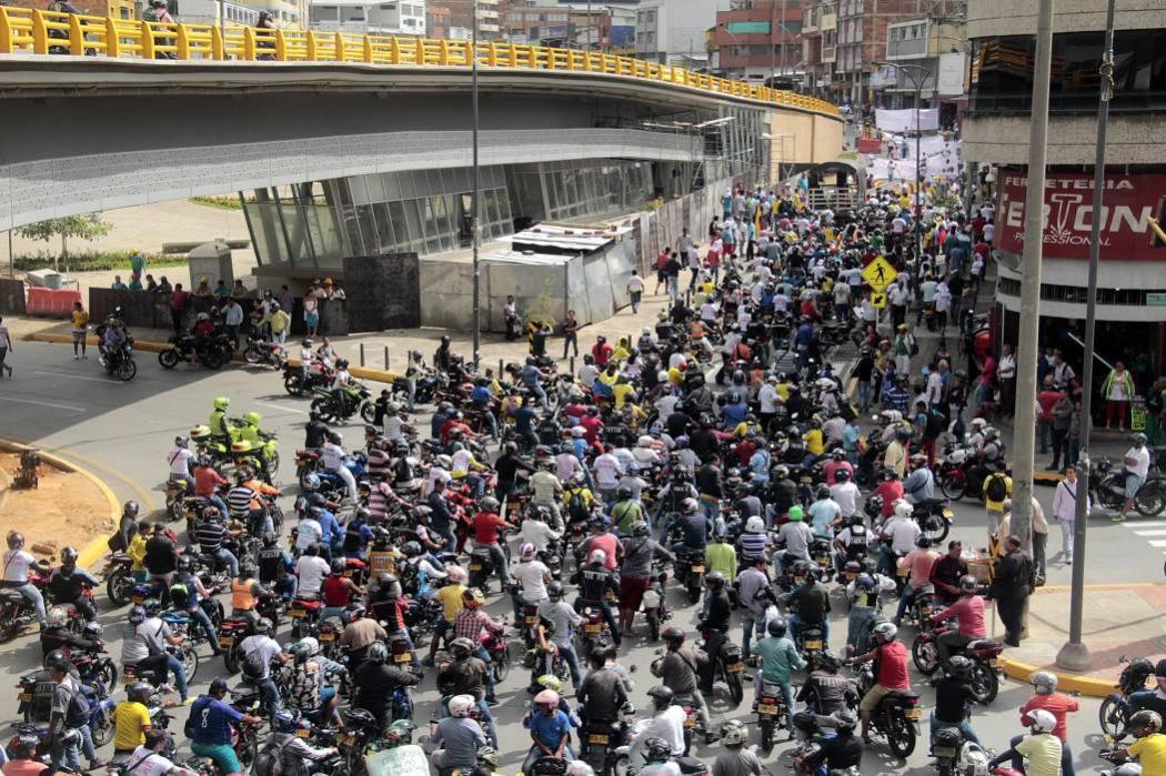Anuncian bloqueos y desobediencia civil por nuevo Pico y Placa en Bucaramanga
