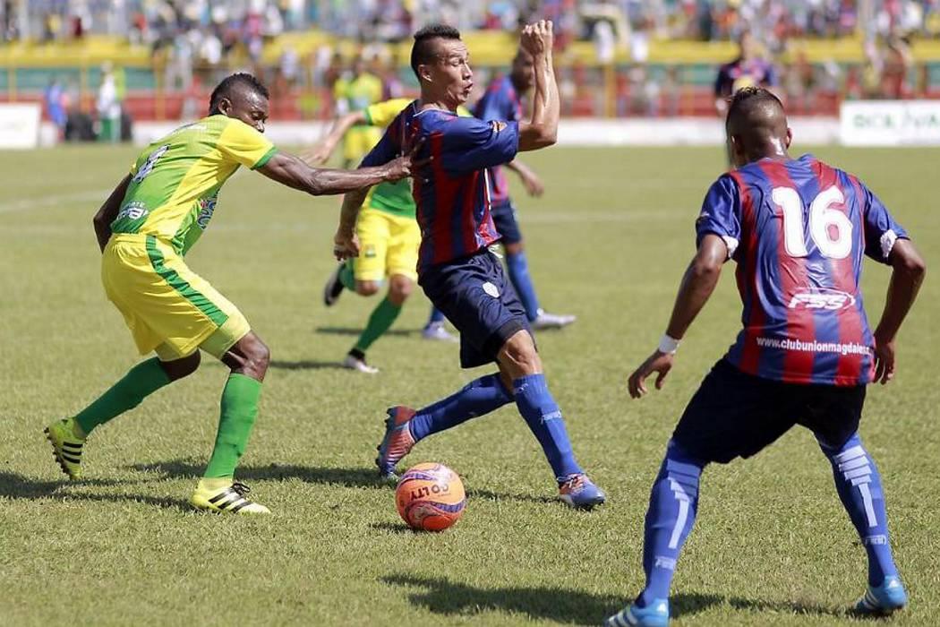 Atlético Bucaramanga perdió 1-0 ante el Unión Magdalena en Magangué