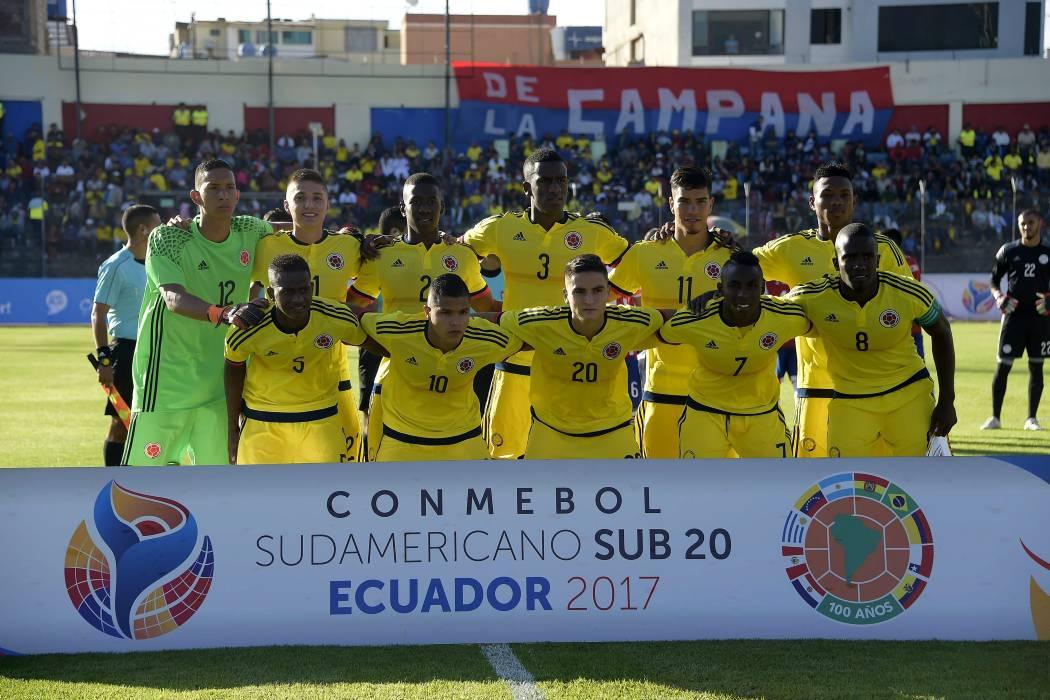 Colombia se jugará la opción de ir al hexagonal final Sub20