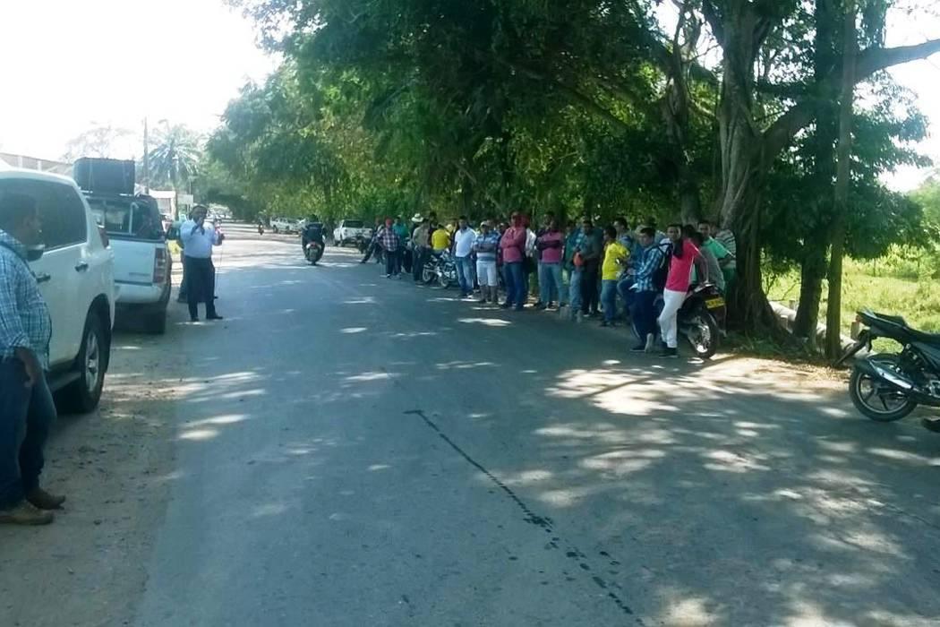 Protestan a contratista  de Ecopetrol en Casabe
