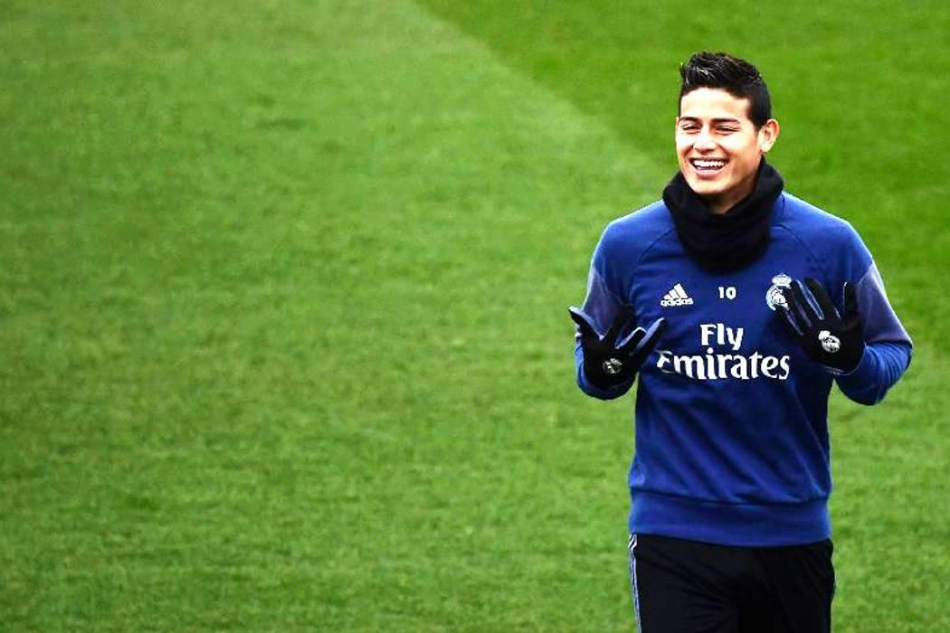 Luego de un mes sin jugar, James Rodríguez regresará a la titular con el Real Madrid