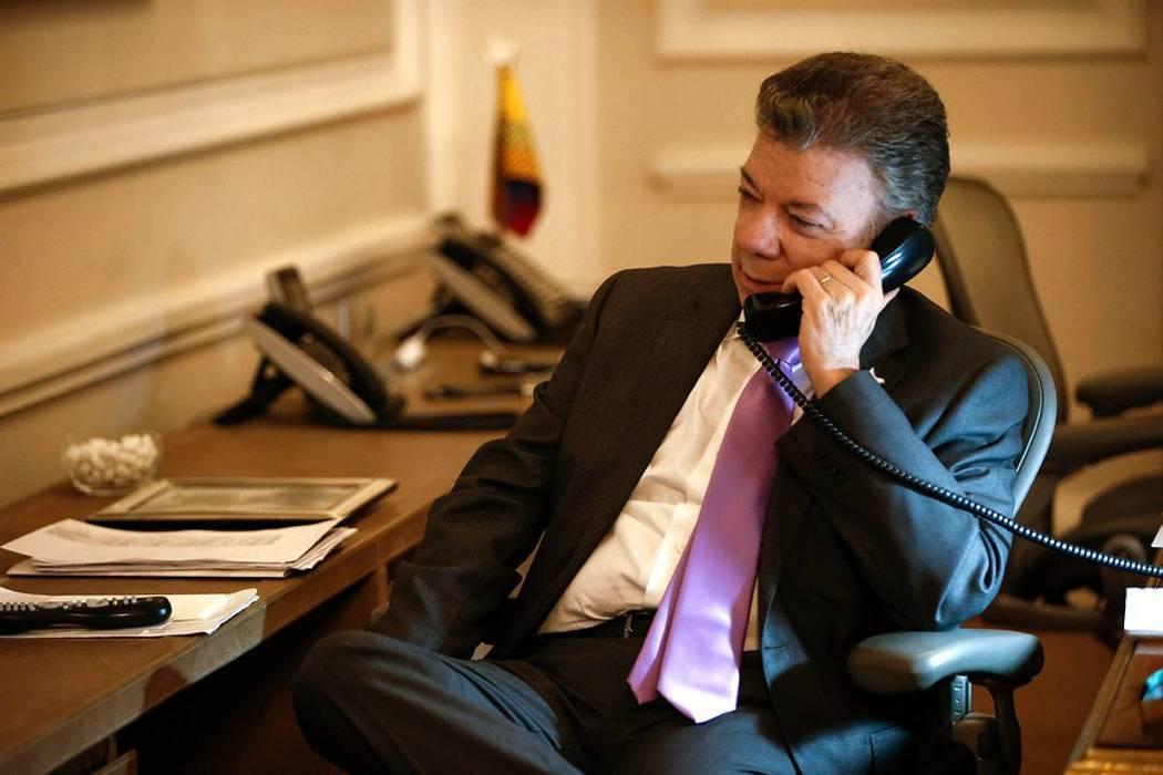 Este sábado Donald Trump hablará por primera vez con Juan Manuel Santos