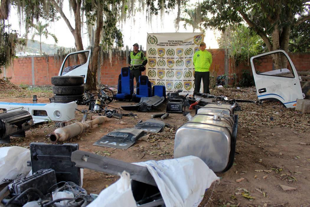 Hombre le hurtó una turbo a su sobrino para desguazarla en Bucaramanga