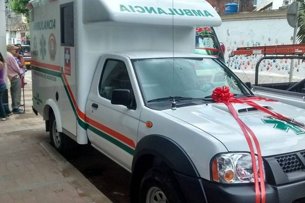 Nueva ambulancia al servicio del municipio