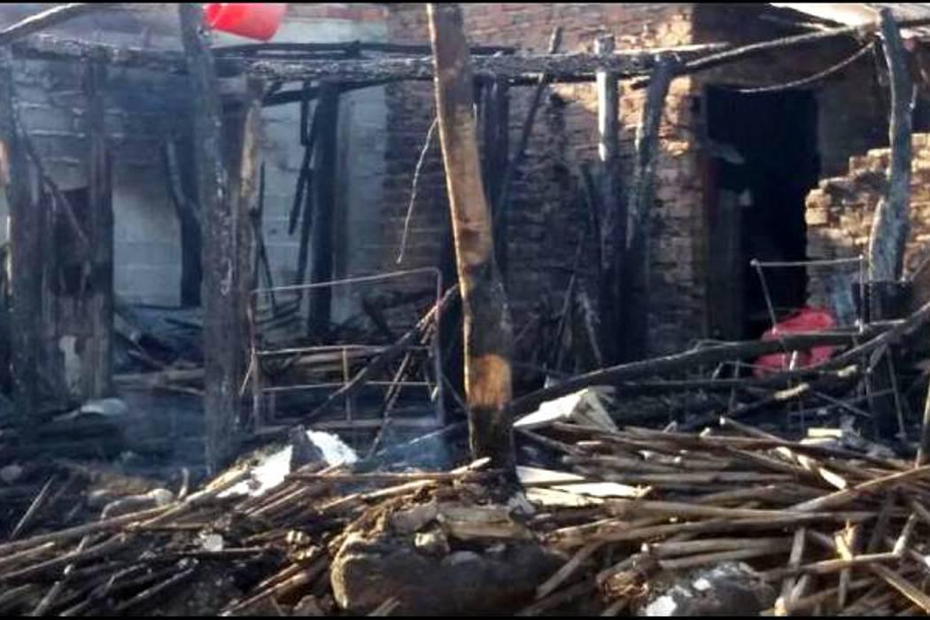 Cinco niños y un adulto murieron en incendio en el sur de Bolívar