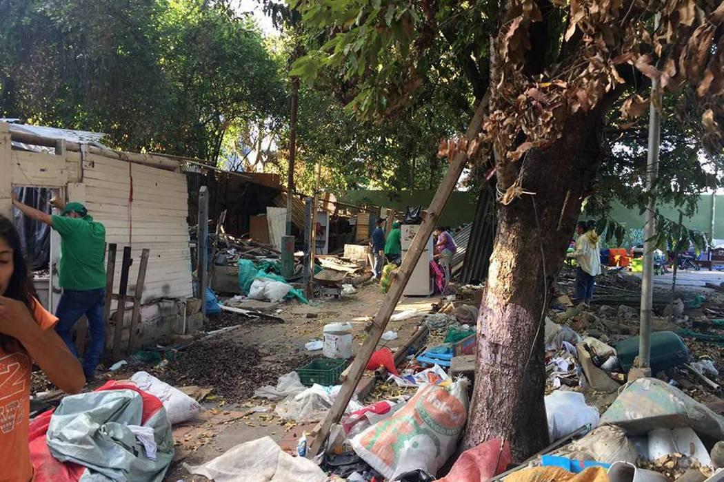 Reubicadas siete familias en el sector de La Isla en Girón