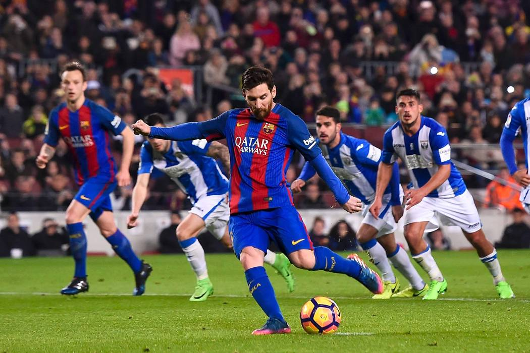 Con goles de Messi, Barcelona evitó una nueva decepción y venció 2-1 al Leganés