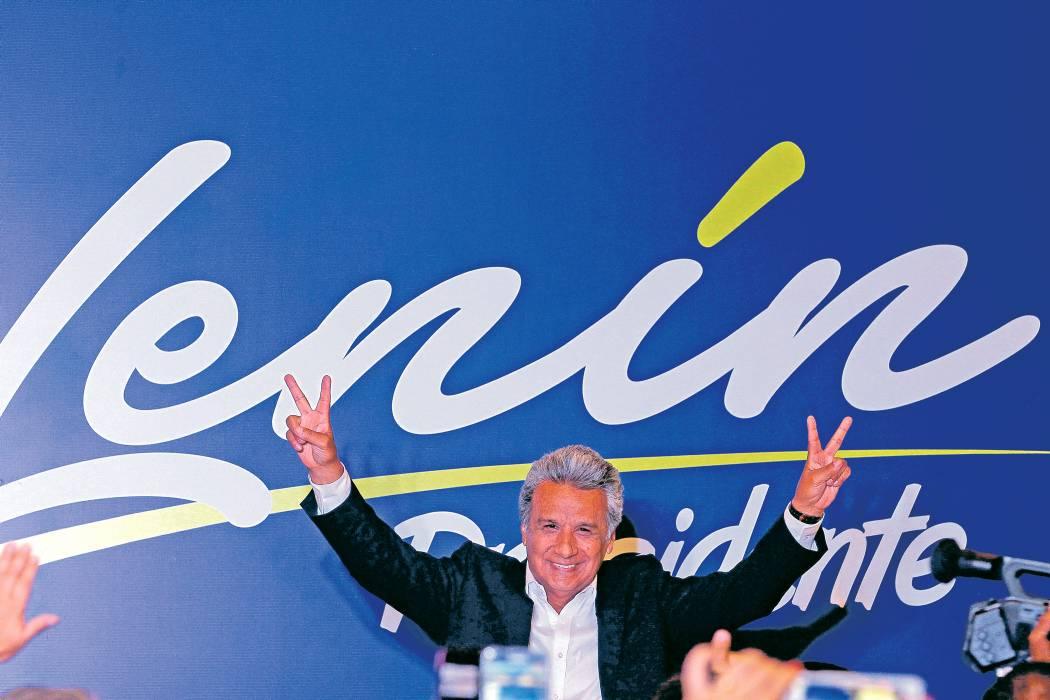 Lenín Moreno se impone en elecciones de Ecuador, pero habría segunda vuelta
