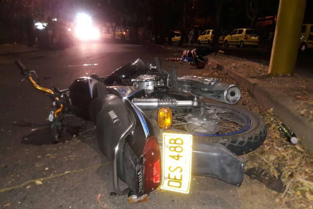 Llamado 'cruce de la muerte' dejó otro motociclista muerto en Floridablanca