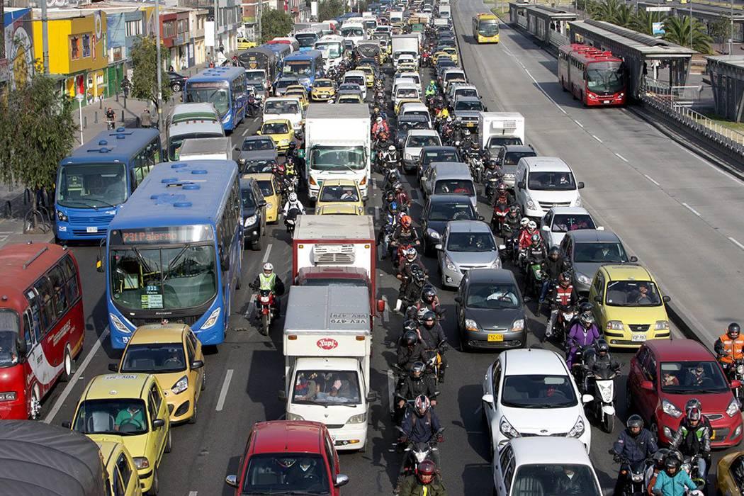 Bogotá, entre las cinco ciudades con peor tráfico del mundo, según estudio