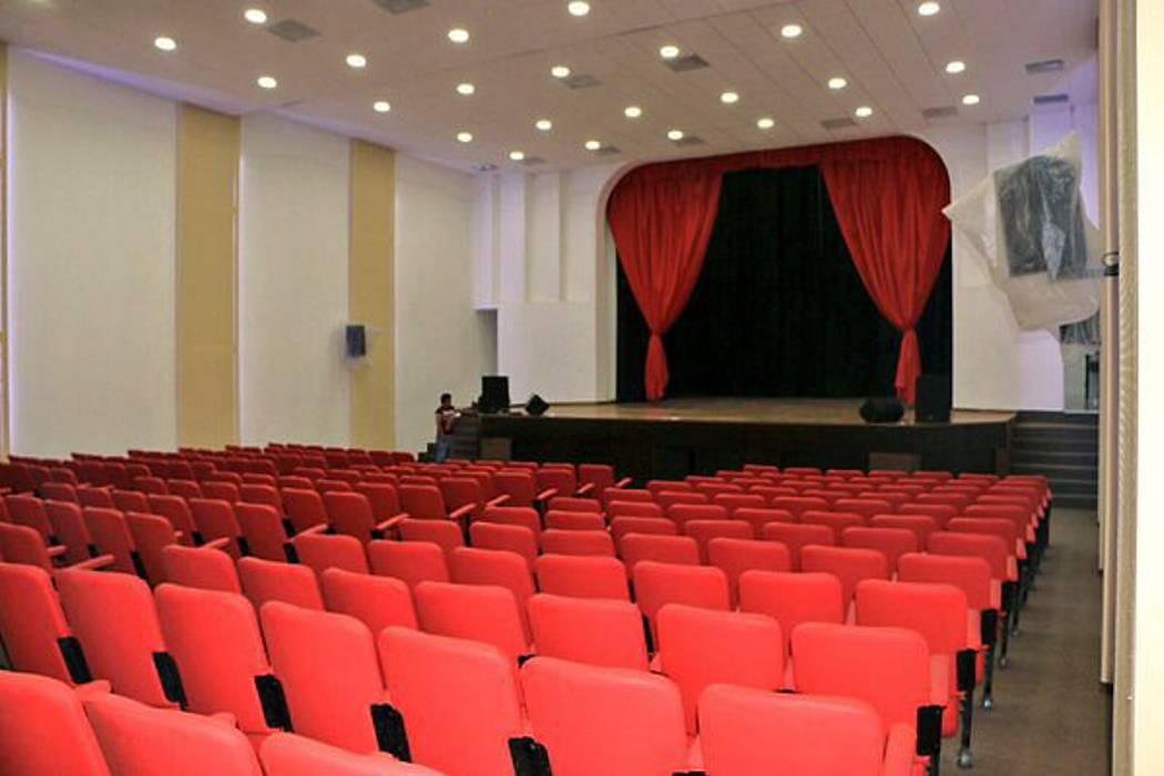 A audiencia, interventor del teatro del Socorro