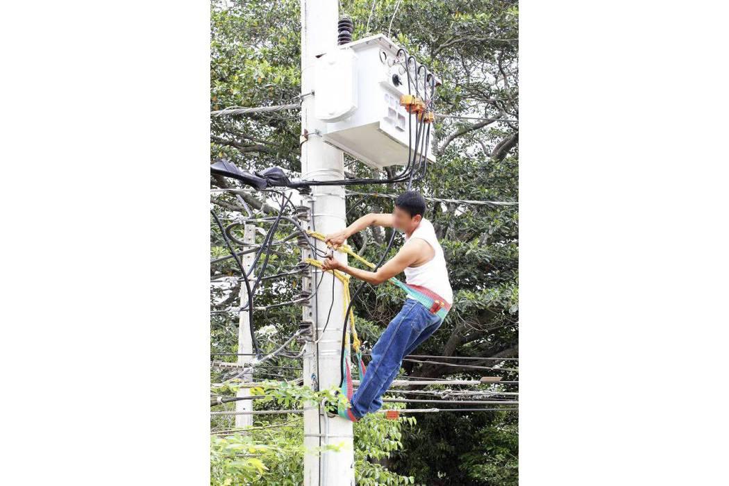 Advierten riesgo por manos  de terceros a redes eléctricas