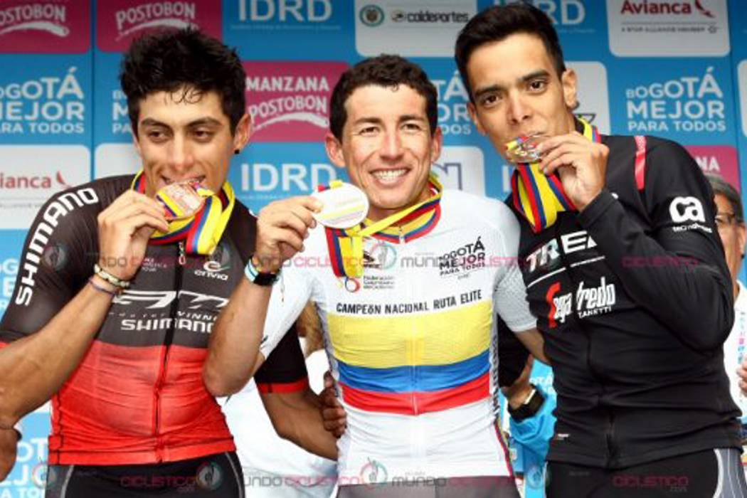 Así fue el enfrentamiento de las estrellas del ciclismo colombiano en el Nacional de Ruta