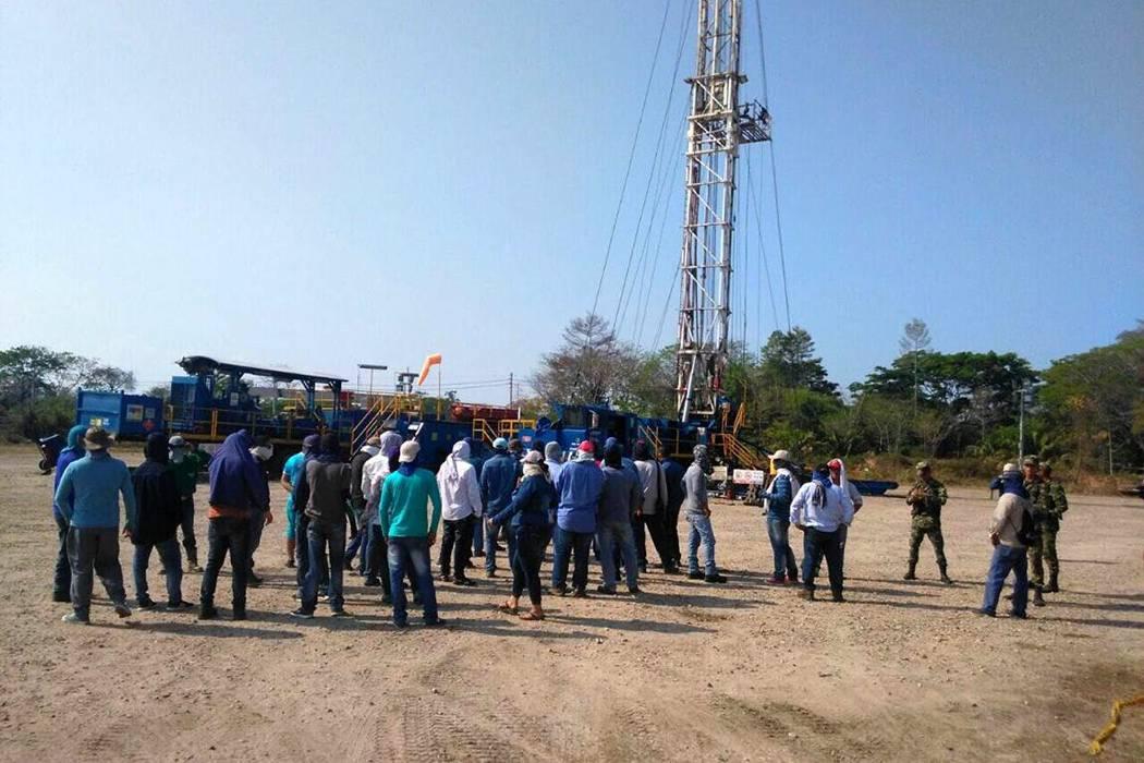 Protestas en Casabe obligan  a Ecopetrol a frenar contratos