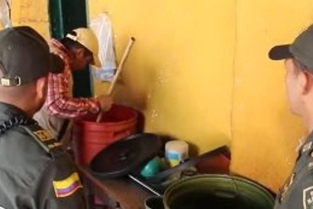 Realizaron inspección a expendios de guarapo