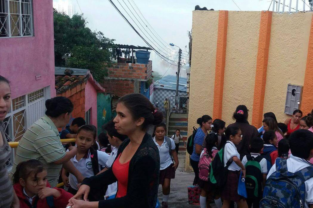 Por robo en colegio de Bucaramanga, 312 niños se quedaron sin clases