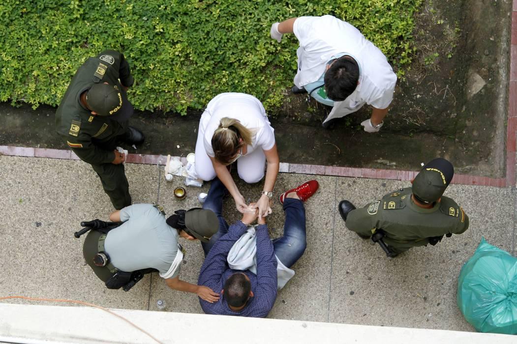 Hombre atentó contra su vida en una audiencia pública en Bucaramanga