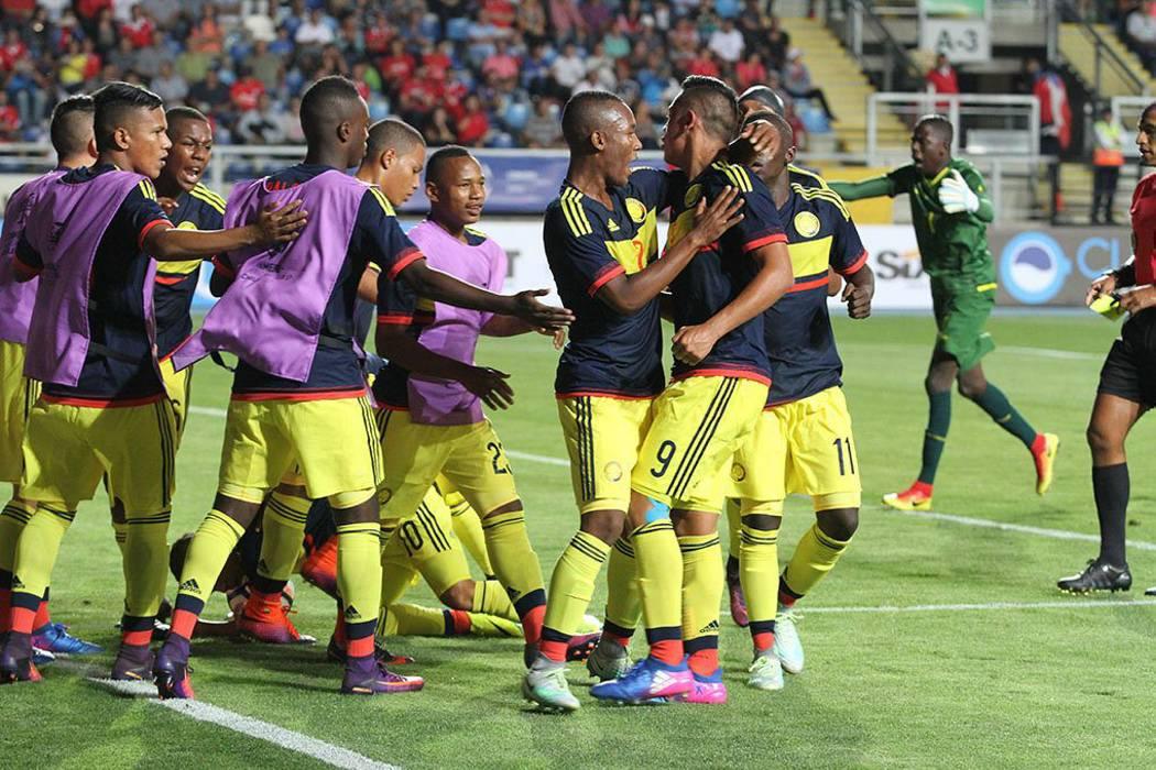 La Selección Colombia Sub-17 de fútbol se clasificó al Mundial de India