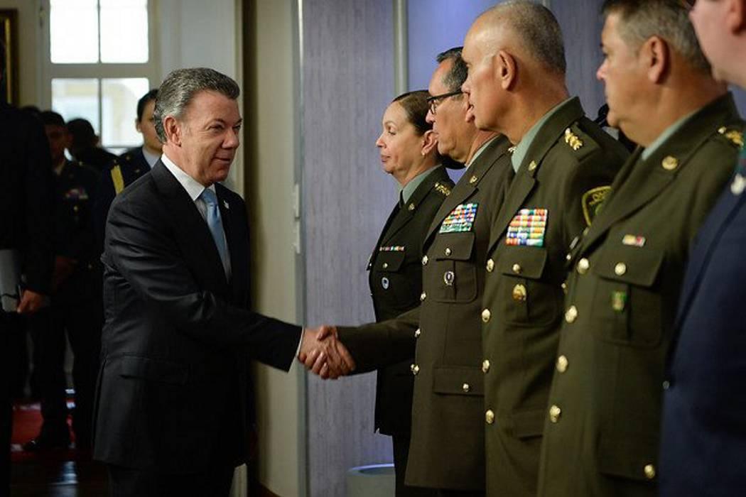 Santos anunció ambicioso plan para modernizar la Policía