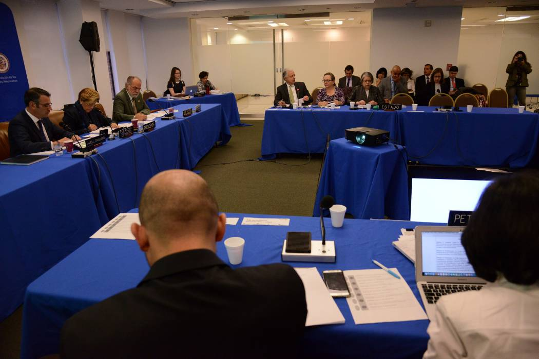 EEUU ausente en audiencia sobre decretos migratorios