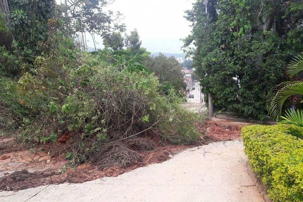 Fuertes lluvias en Piedecuesta causaron varios deslizamientos