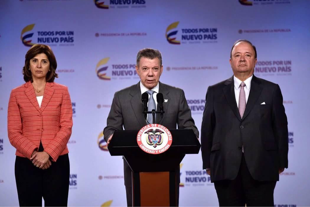 Presidente confirmó que ya salieron tropas venezolanas