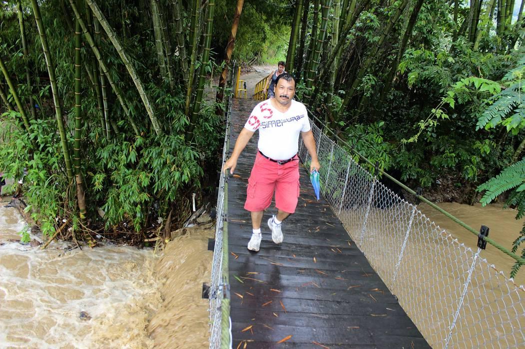 Floridablanca sigue en calma, a pesar del clima