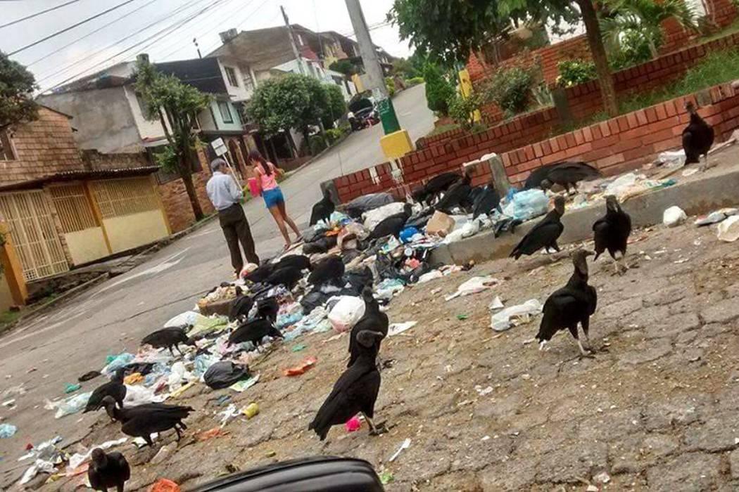 La comunidad de Piedecuesta está afectada por los desechos