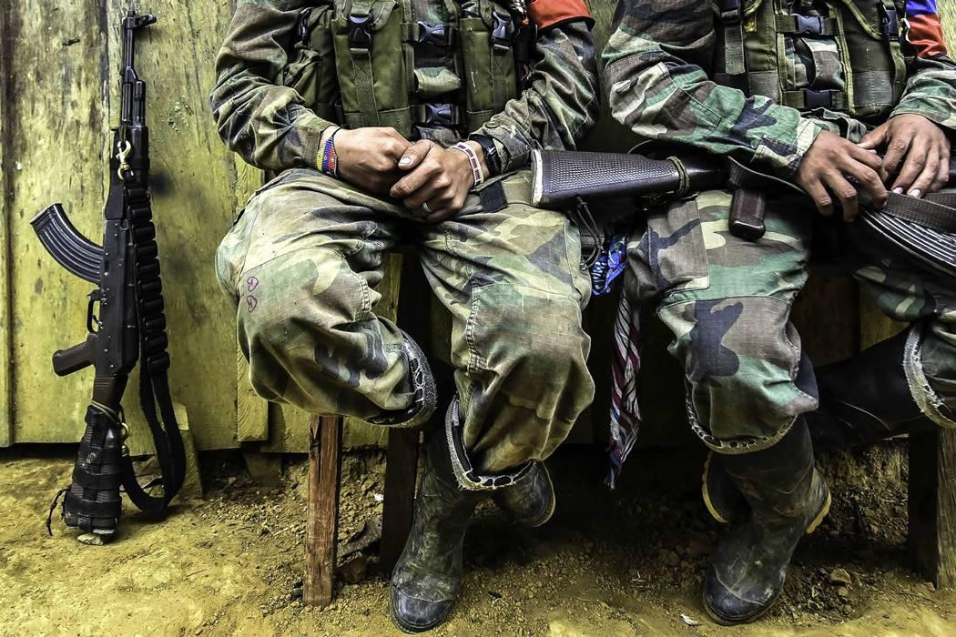 Se entregaron al Ejército 117 disidentes de las Farc en Nariño