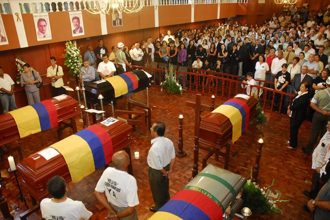 En firme condena a tres guerrilleros por secuestro de los 12 diputados del Valle