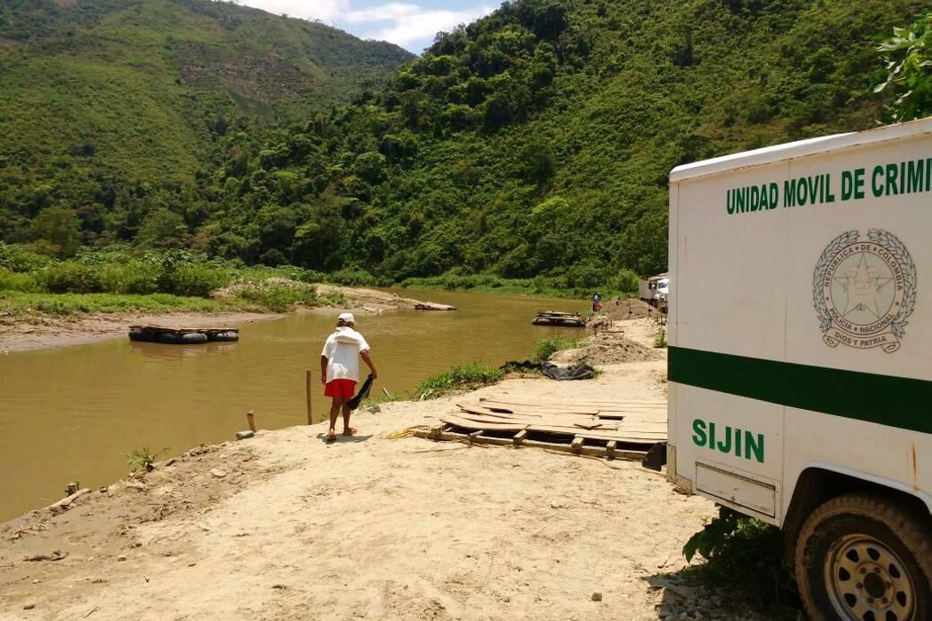 Hallaron cadáver de un hombre en la represa de Bocas, en Girón