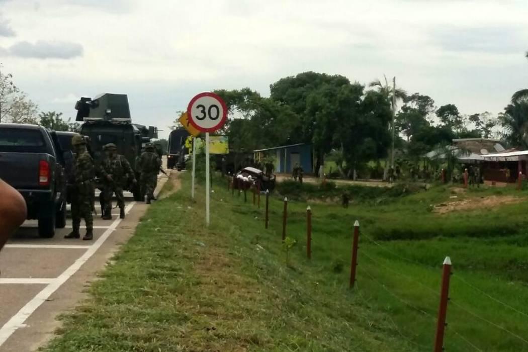 Emboscada del Eln en Arauca dejó dos militares muertos y tres heridos