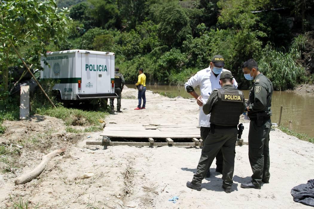 Encuentran a un hombre sin vida en la represa de Bocas, en Girón
