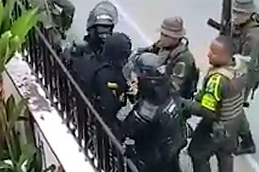 Video registra el asesinato de un Policía del Esmad en Tumaco