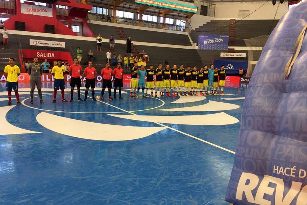 Colombia empezó con goleada ante Ecuador