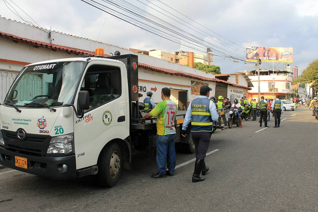En junio inicia plan contra transporte informal en Bucaramanga