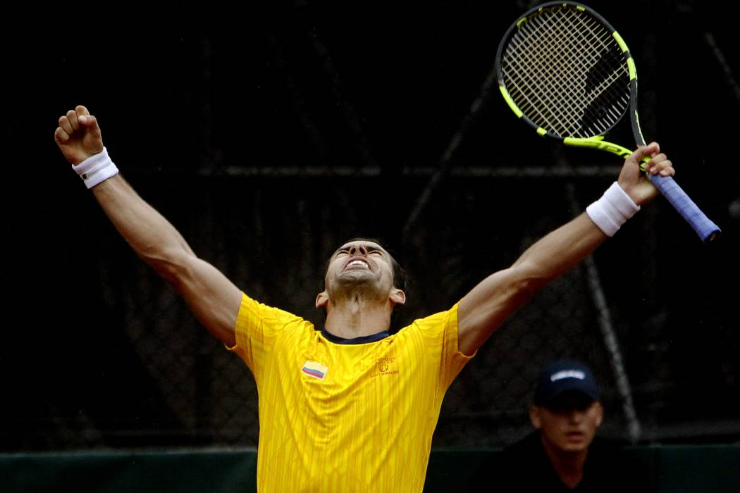 Colombia, otra vez al play off de Copa Davis