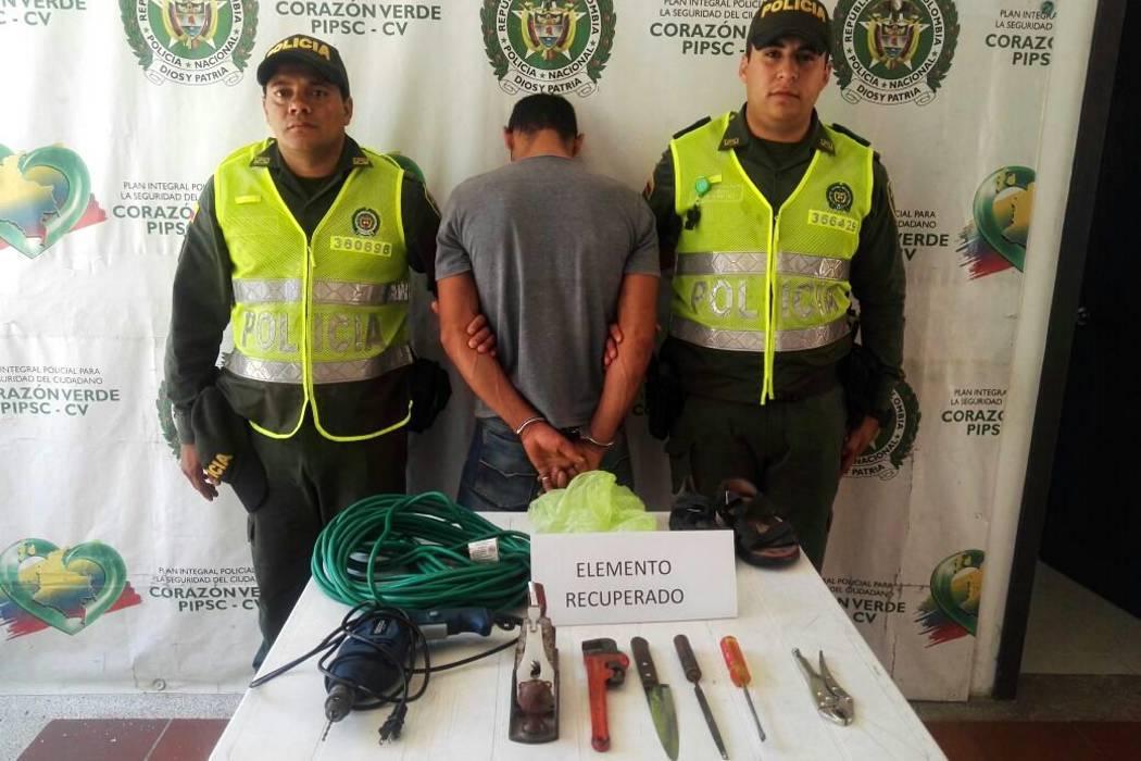 """Capturado alias """"el tuerto"""" en el Socorro"""