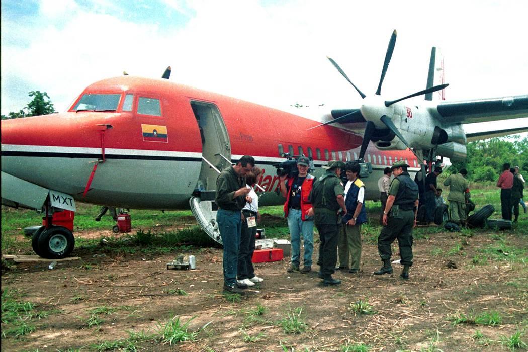 Hace 18 años el Eln secuestró en pleno vuelo un Fokker de Avianca en Bucaramanga