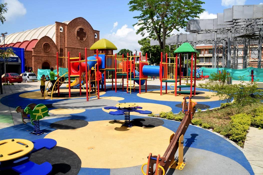 Remodelación en el Parque  Infantil estaría lista en julio