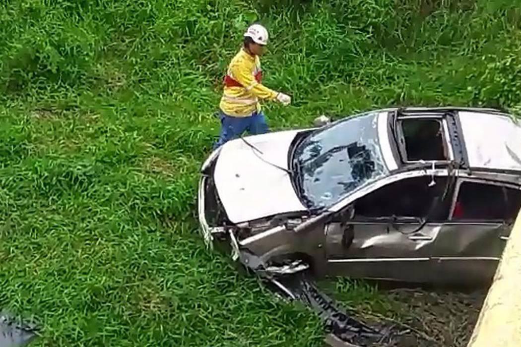 Accidente de tránsito dejó un muerto y dos heridos en Santander