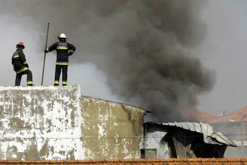 Avioneta se estrelló en Portugal y dejó a cinco personas muertas
