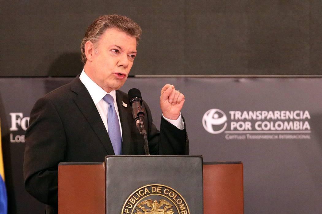 Conozca las medidas contra la corrupción que anunció Presidente Santos